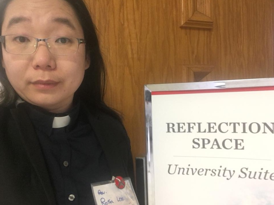 Checking In To Reflection Space To Serve On Satuday