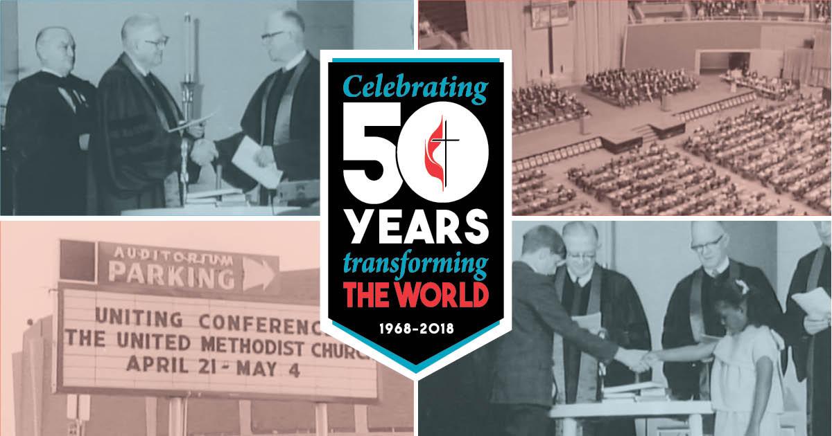 Celebrate The United Methodist Churchs 50th Anniversary Northern